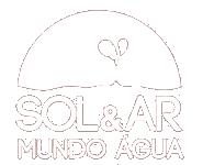 Logo Branca Sol e Ar