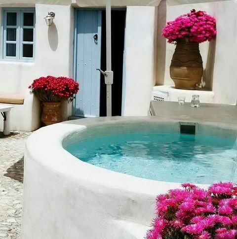 piscina - estilo mediterrâneo